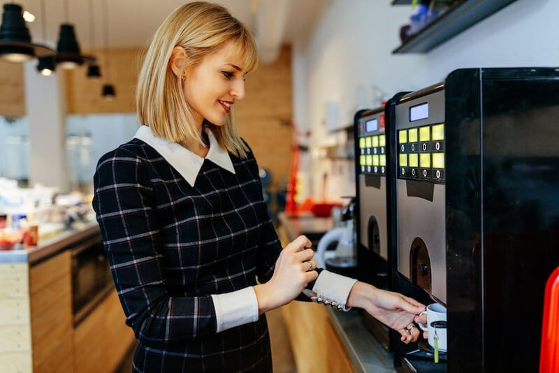 Benefits of office coffee machines